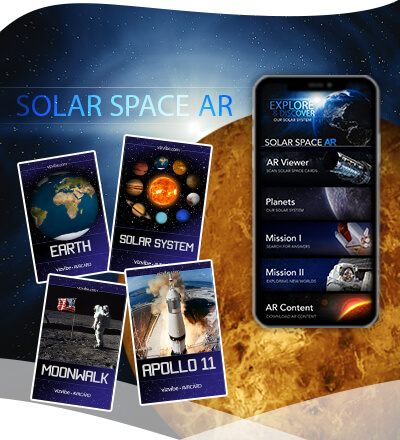 Solar Space app and cards